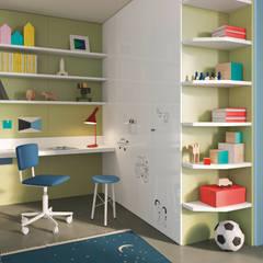 Dormitorios infantiles de estilo  por Nidi