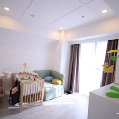 Nursery/kid's room by 協億室內設計有限公司