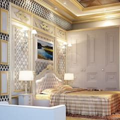 MASTER BEDROOM:  Bedroom by Fervor design