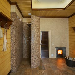 Spa by ItalProject, Eclectic Wood Wood effect