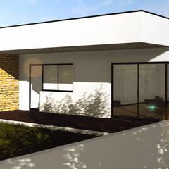 MORADIA UNIFAMILIAR @ BEDUIDO, AVR: Iates e jatos  por P&H - Arquitectos,Moderno