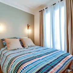chambre : Chambre de style de style eclectique par Maud Rousset