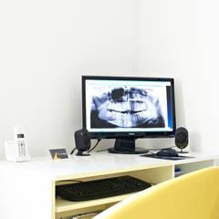 EL-RAD pracownia rtg: styl , w kategorii Kliniki zaprojektowany przez STUDIO 180°