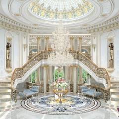 Beautiful house interior of Katrina Antonovich:  Corridor & hallway by Luxury Antonovich Design, Classic
