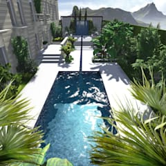 Jardin Terrasse - Style Exotique - Paris France: Terrasse de style  par PALMA CONCEPT