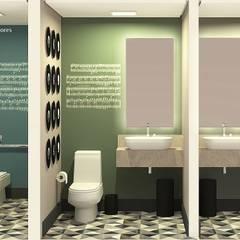 مدارس تنفيذ Angelica Hoffmann Arquitetura e Interiores,