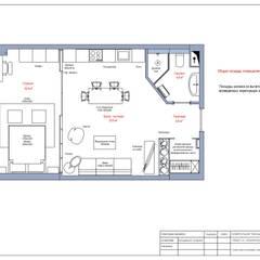План расстановки мебели: Стены в . Автор – Ёрумдизайн