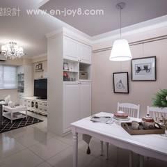Salle à manger de style  par 享家空間設計