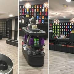 projet d'aménagement d'une torréfaction: Centres commerciaux de style  par Insitu