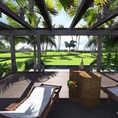 Villa Privée - Style Tropical - Nerja España: Jardin de style de style Tropical par PALMA CONCEPT