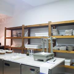 Gleba - Moagem e Padaria: Lojas e espaços comerciais  por Artglam - construção