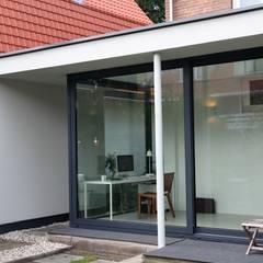 Verbouw en aanbouw jaren dertig woning Bilthoven:  Terras door Architectenbureau Jules Zwijsen