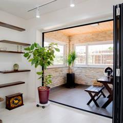 Terrace by 꿈애하우징, Modern