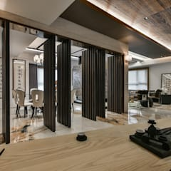 Corridor & hallway by Luova 創研俬.集, Asian