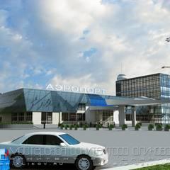 Aeropuertos de estilo  por Мастерская архитектора Аликова