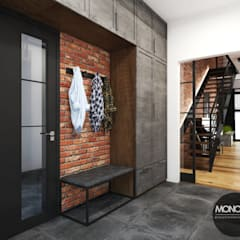 Corridor & hallway by MONOstudio, Industrial