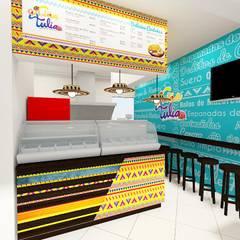 diseño restaurante: Locales gastronómicos de estilo  por Dies diseño de espacios