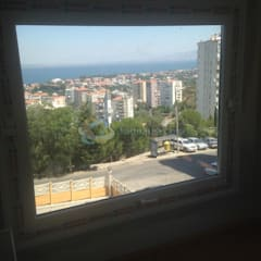 Lens İnşaat Elektrik Elektronik San.Tic.Ltd.Şti. – İzmir Narlıdere Arıkent Sitesi E Blok bulunan dairenin anahtar teslim komple daire tadilat: klasik tarz tarz Yemek Odası