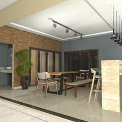 Projeto de um Sobrado Residencial Jardim Isabela Garagens e edículas ecléticas por RVA Arquitetura Eclético