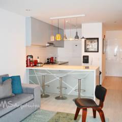 Departamento Barranco: Cocinas de estilo  por DMS Arquitectas