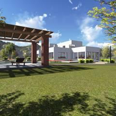 Vivienda F & V: Casas de estilo  por CA|Arquitectura