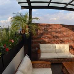 Terrace by Regenera Mx - Fábrica Ecológica