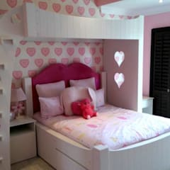 Completed bedroom for young teenager girl: colonial Nursery/kid's room by CKW Lifestyle