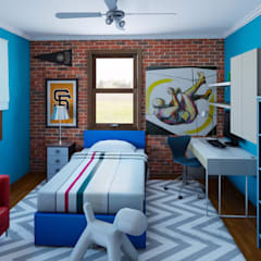 Nursery/kid's room by CKW Lifestyle
