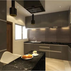 Residential Apartment :  Kitchen by S2A studio