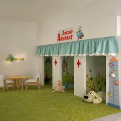 Медицинский центр в Новосибирске: Кабинеты врачей в . Автор – Инна Меньшикова