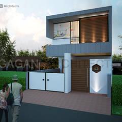 Modern House by Gagan Architects