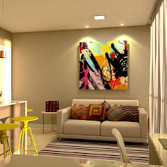 imagem interna 5: Salas de estar  por P&I Arquitetura
