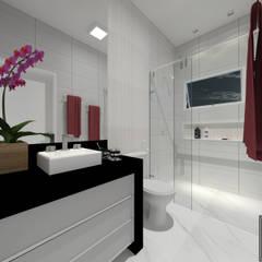 حمام تنفيذ Patrícia Lima - Arquitetura e Design