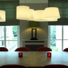 Bar restaurant Pavlov Den Haag:  Studeerkamer/kantoor door Robbert Lagerweij Interior Design