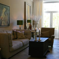 Salas de estilo clásico de Robbert Lagerweij Interior Design Clásico Madera Acabado en madera