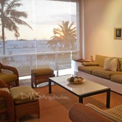 Remodelacion Casa de Playa: Casas de estilo  por DMS Arquitectas, Moderno