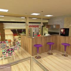 Projekty,  Przestrzenie biurowe i magazynowe zaprojektowane przez CKO ARQUITETURA