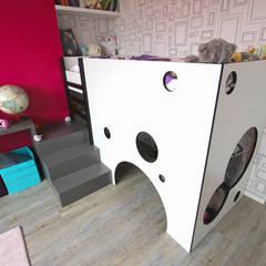 Chambre enfant: Chambre d'enfant de style de style Minimaliste par Atelier OCTA