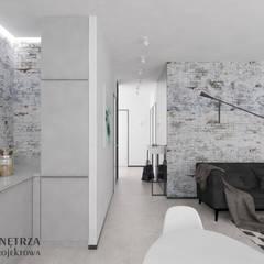 MIESZKANIE SKANDYNAWSKIE: styl , w kategorii Salon zaprojektowany przez AFD Pracownia Projektowa