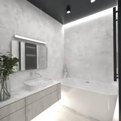 ห้องน้ำ โดย AFD Pracownia Projektowa,