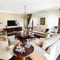 Öykü İç Mimarlık – Bursa Misspark Villa:  tarz Oturma Odası