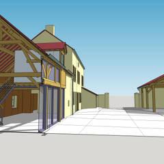 Longère de Saint Appo: Maisons de style  par Vincent Athias Architecte DPLG
