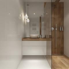 Projekt łazienek. Stratford, Anglia.: styl , w kategorii Łazienka zaprojektowany przez PRØJEKTYW | Architektura Wnętrz & Design