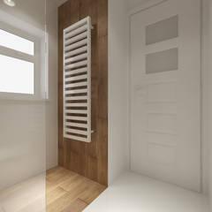 scandinavian Bathroom by PRØJEKTYW | Architektura Wnętrz & Design