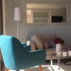 Pequeñas intervenciones de remodelación para decorar: Livings de estilo  por Studio Barla