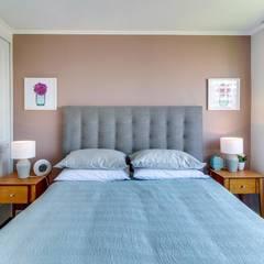 Dormitorios pintados y amoblados: Dormitorios de estilo  por Studio Barla
