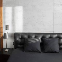 Projekty wnętrz w domu jednorodzinnym w Kaszowie k.Krakowa.: styl , w kategorii Sypialnia zaprojektowany przez PRØJEKTYW | Architektura Wnętrz & Design