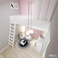 Nursery/kid's room by PRØJEKTYW | Architektura Wnętrz & Design,