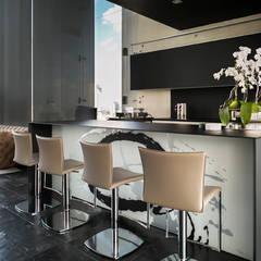 Bar: Cavas de estilo moderno por M+M INTERIORISMO