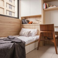 Bedroom by 双設計建築室內總研所